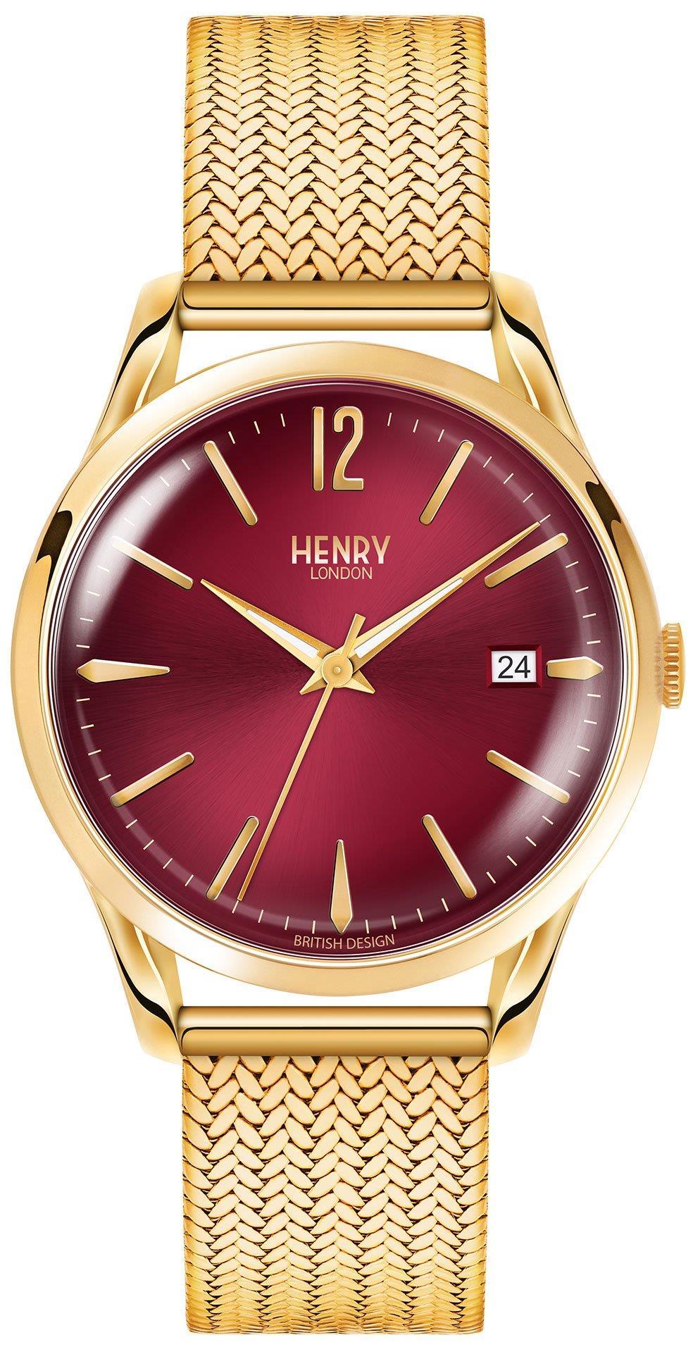 HENRY LONDON HL39-M-0062 Unisex Kol Saati
